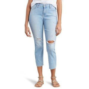 NWT LEVIS Curvy Straight Destructed Jeans